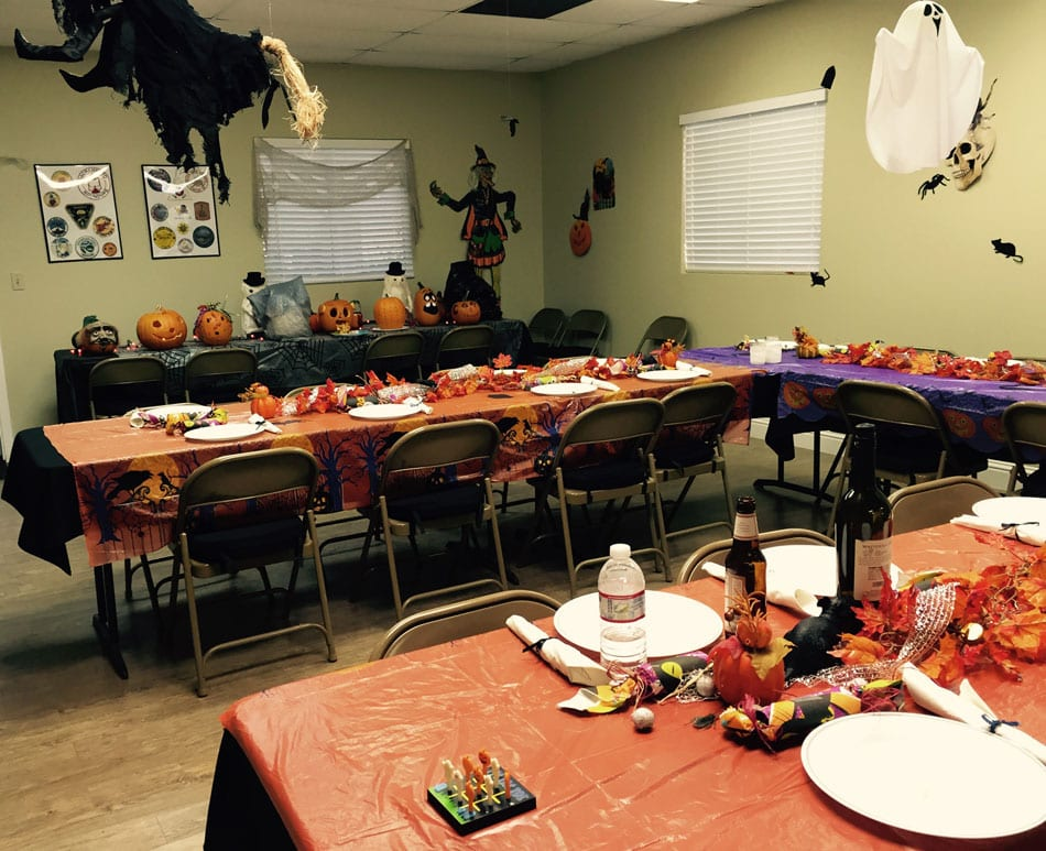Halloween in the Clubhouse